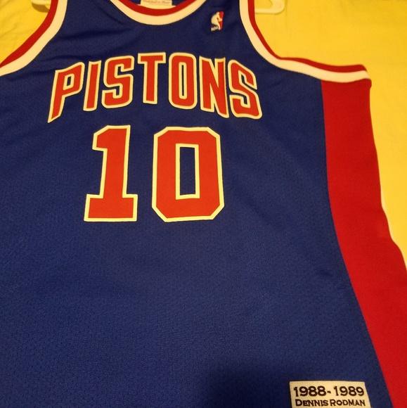 best website 76397 f4ef4 Dennis Rodman Pistons Jersey